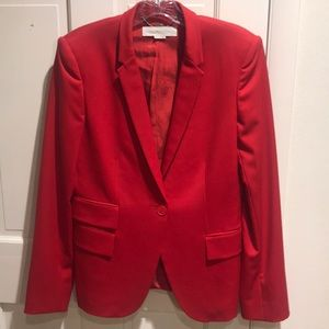 STELLA McCARTNEY RED BLAZER 42